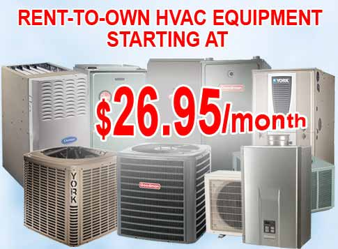 Air Conditioner Furnace Sale Amp Rental Hvac Contractors